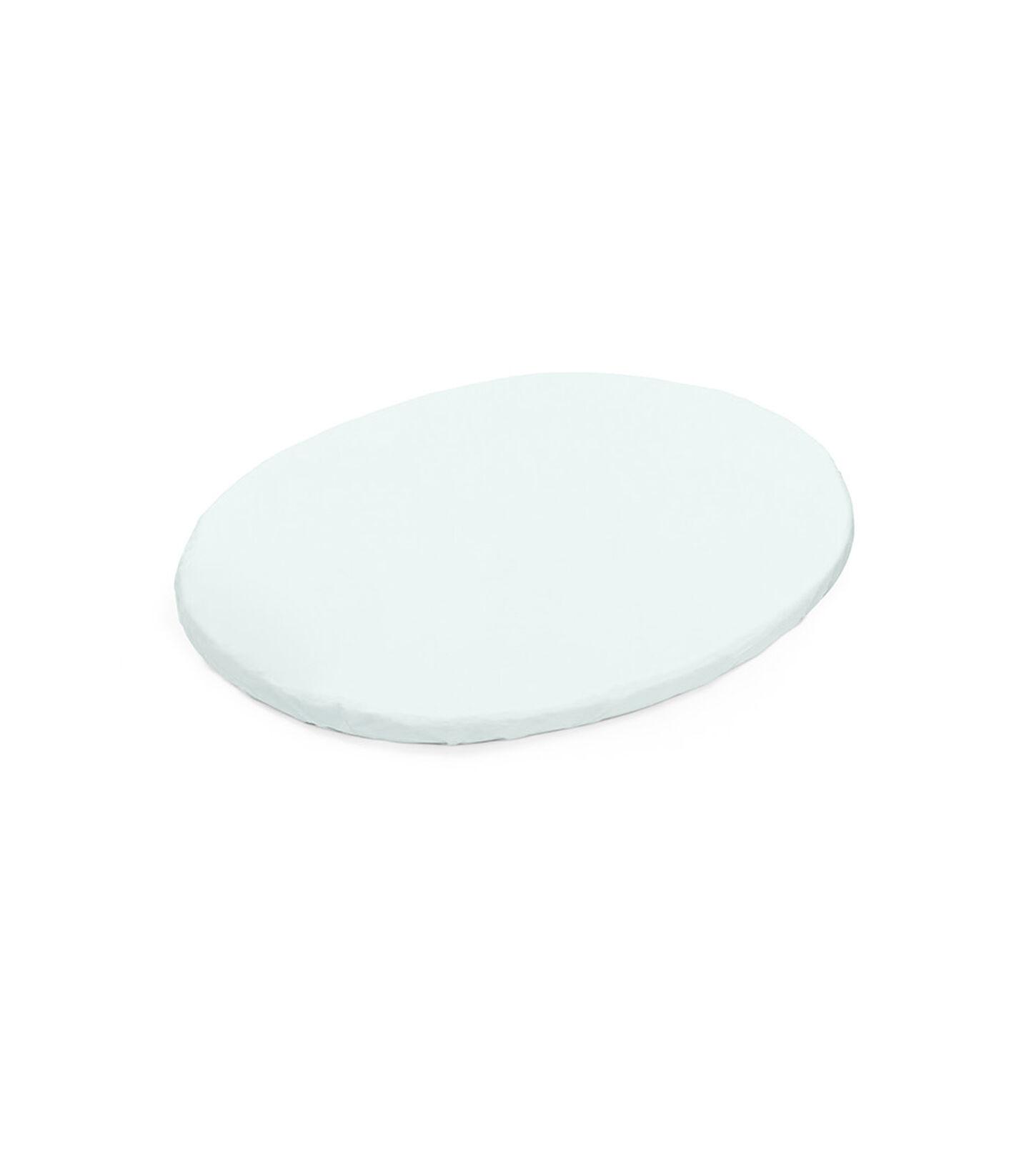 Stokke® Sleepi™ Mini Fitted Sheet Powder Blue, Powder Blue, mainview view 1