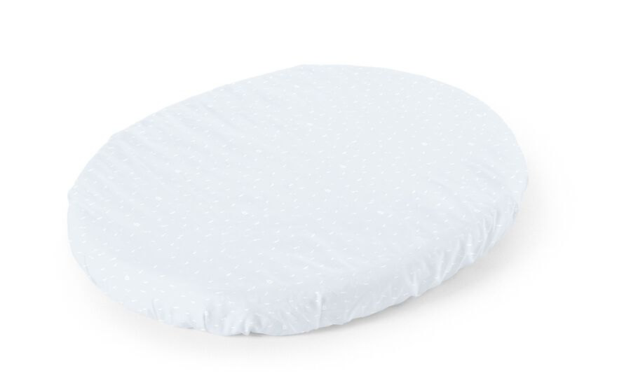Stokke® Sleepi™ Fitted Sheet. Blue Sea.