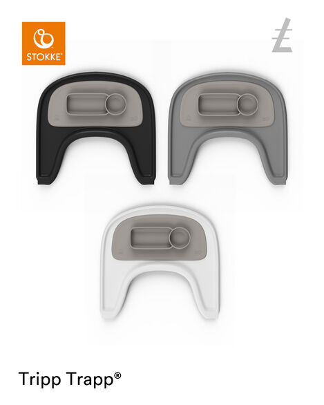 ezpz™ by Stokke™ placemat for Stokke® Tray Soft Grey, Gris Suave, mainview view 6