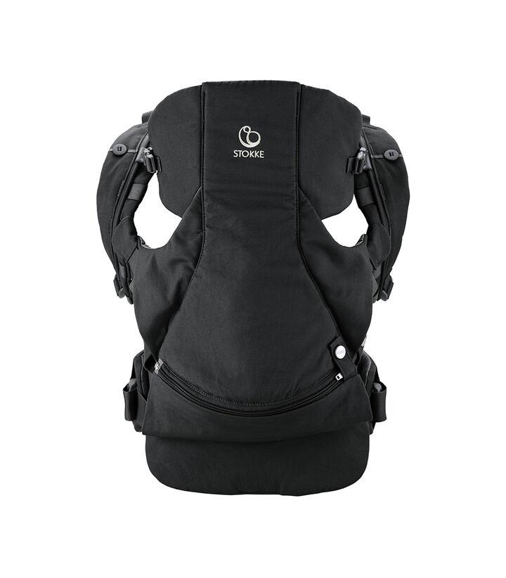 Stokke® MyCarrier™ mag- och ryggsele Black, Black, mainview view 1