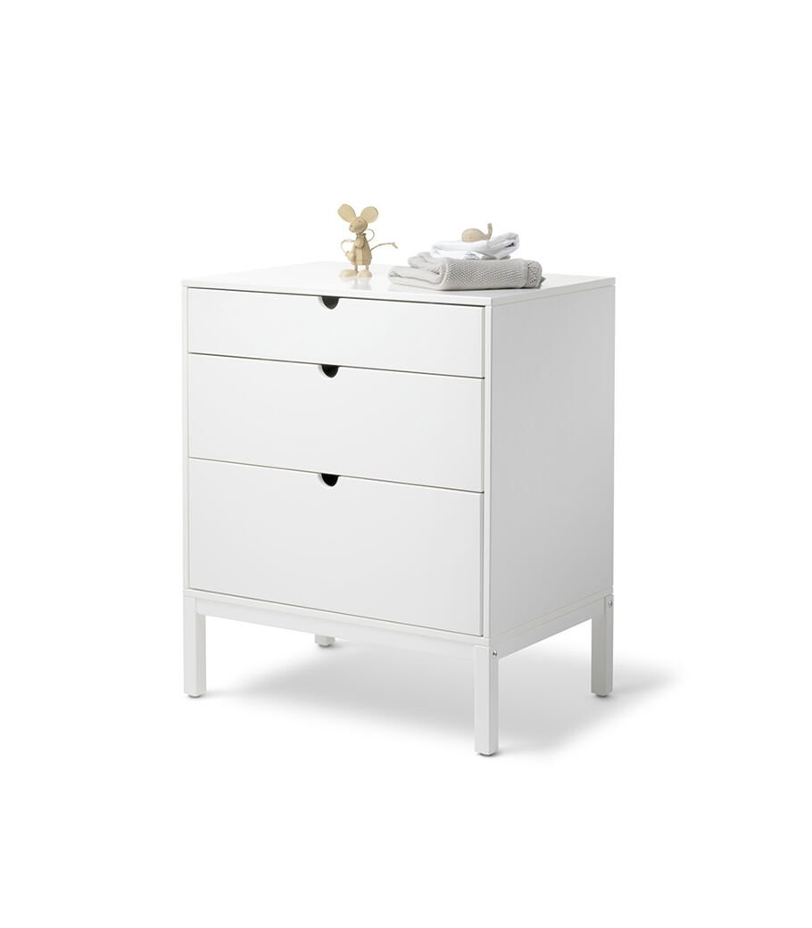 Stokke® Home™ Dresser, White. With Changer. view 12