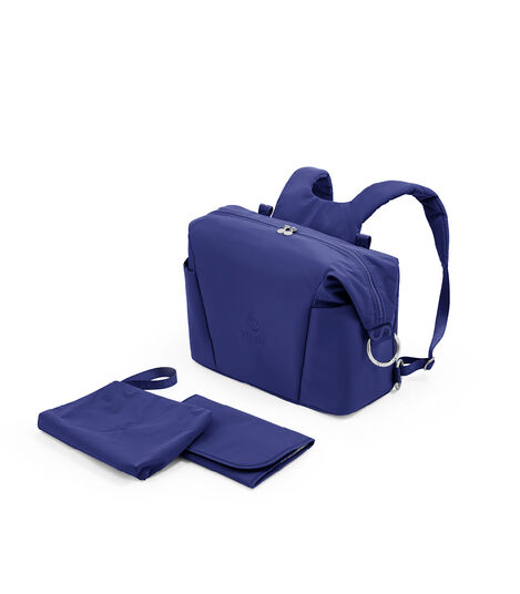 Stokke® Xplory® X Changing Bag Royal Blue What's Included . Accessories. view 3