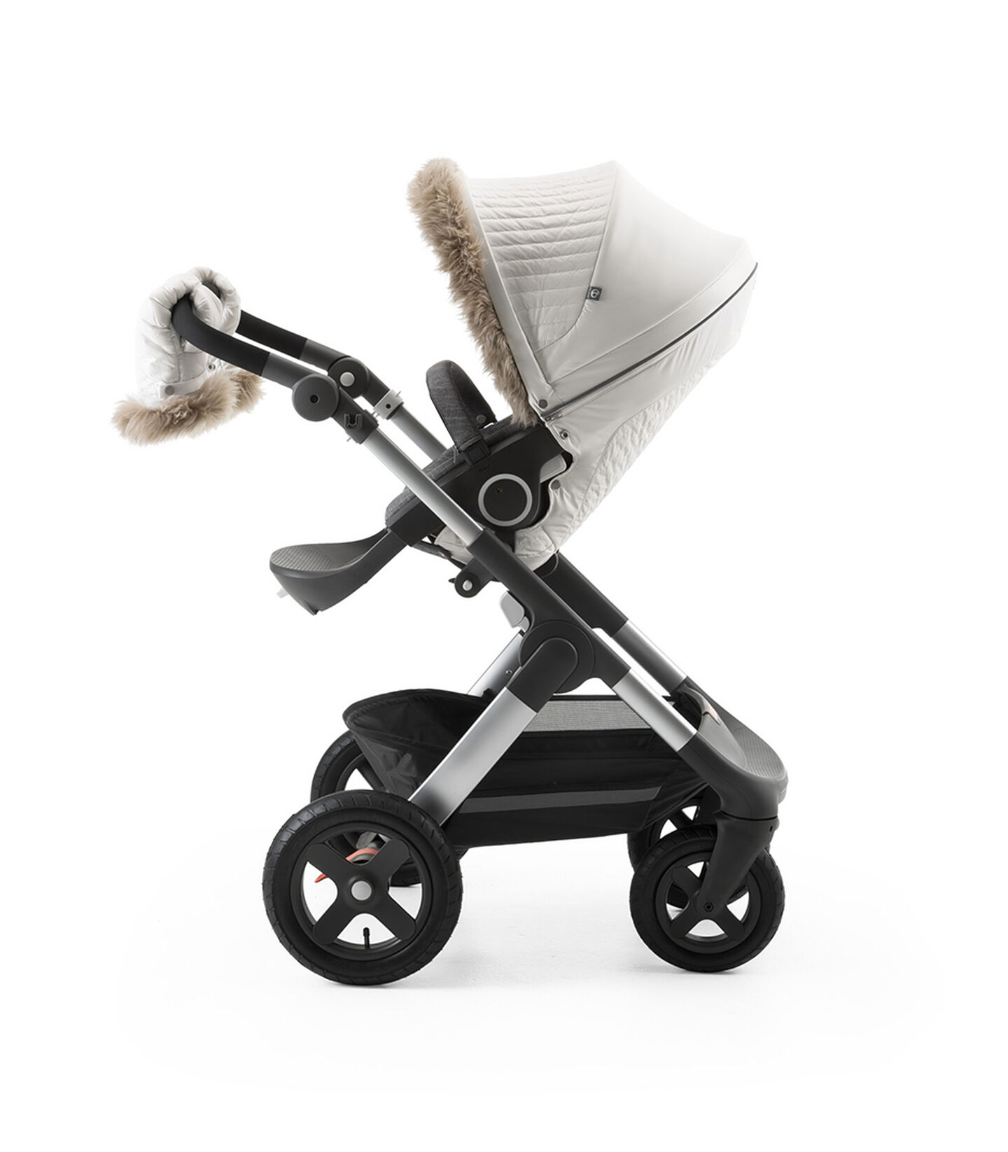 Stokke® Stroller Winter Kit Pearl White, Bianco Perla, mainview