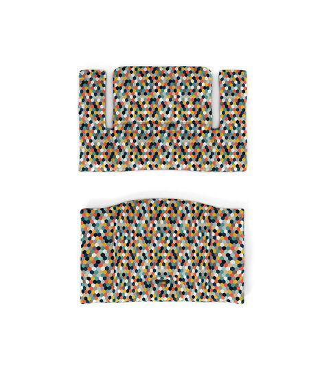 Tripp Trapp® Classic Cushion Honeycomb Happy. Flatlay.