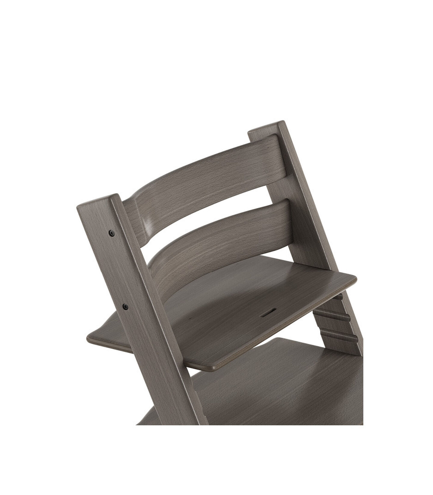 Tripp Trapp® Chair close up 3D rendering Hazy Grey