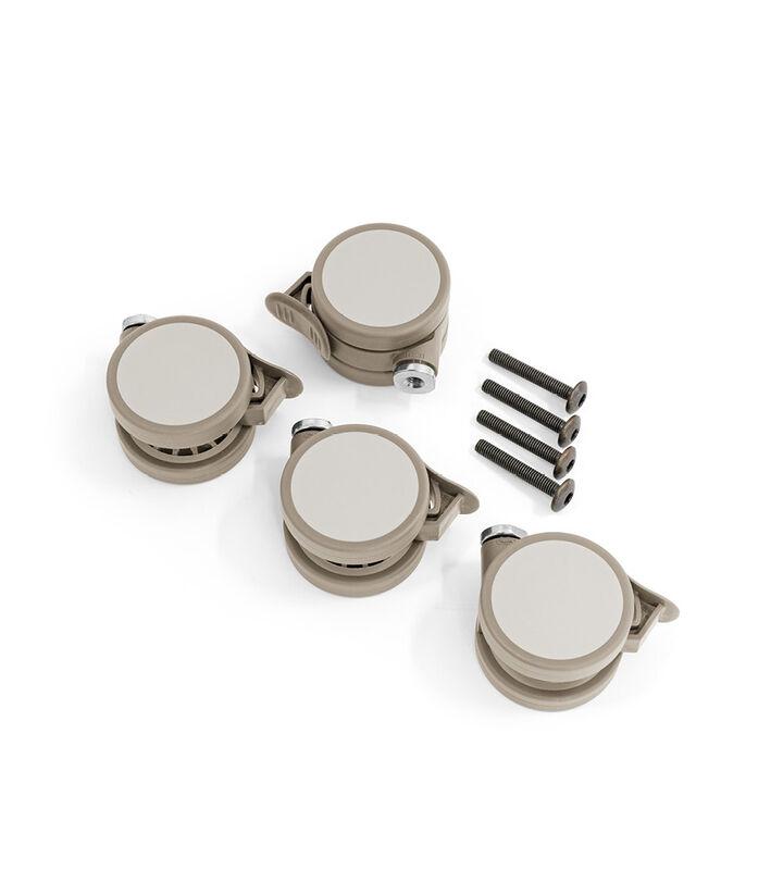 Stokke® Sleepi™ Wheel Screwbag Beige. view 1