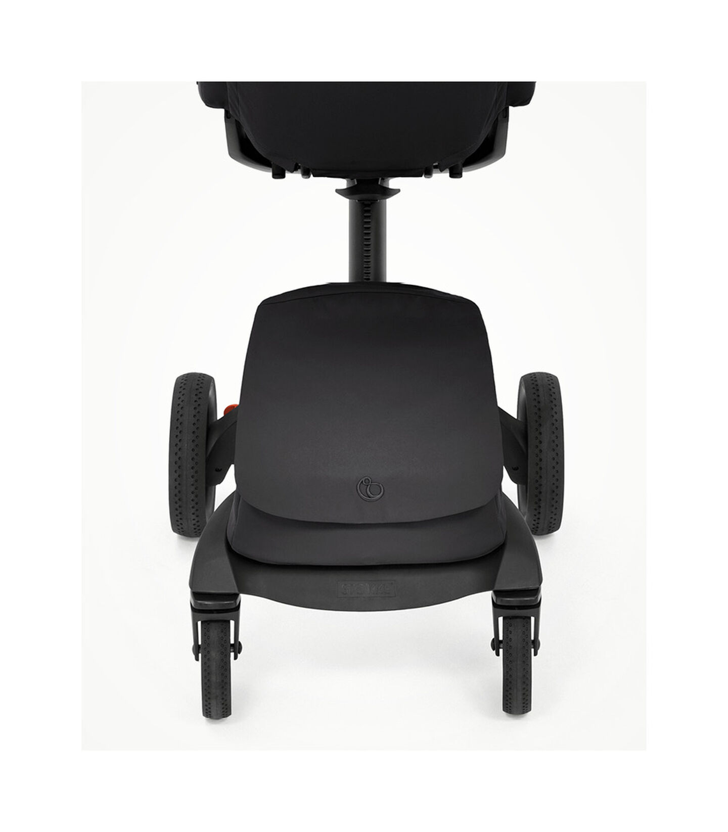 Stokke® Xplory® X Rich Black Stroller with Seat. Zoomed. view 4
