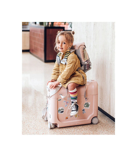 Travel bundle BedBox™ + Crew BackPack™ Pink/Pink, Pink / Pink, mainview view 2
