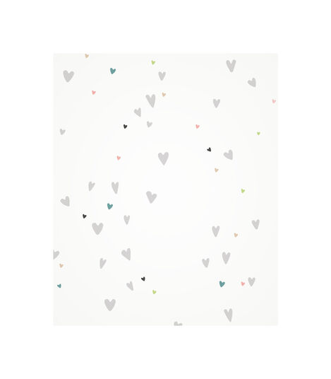 Tripp Trapp® Baby Cushion Sweet Hearts pattern.