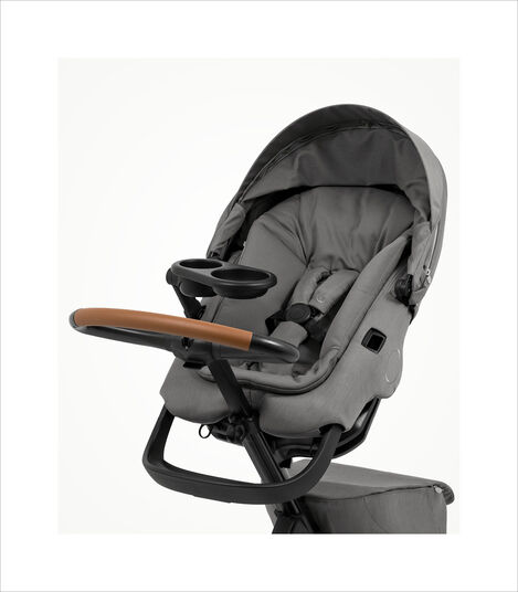 Stokke® Xplory® X with Stroller Snack Tray. Accessories. Zoomed. view 3