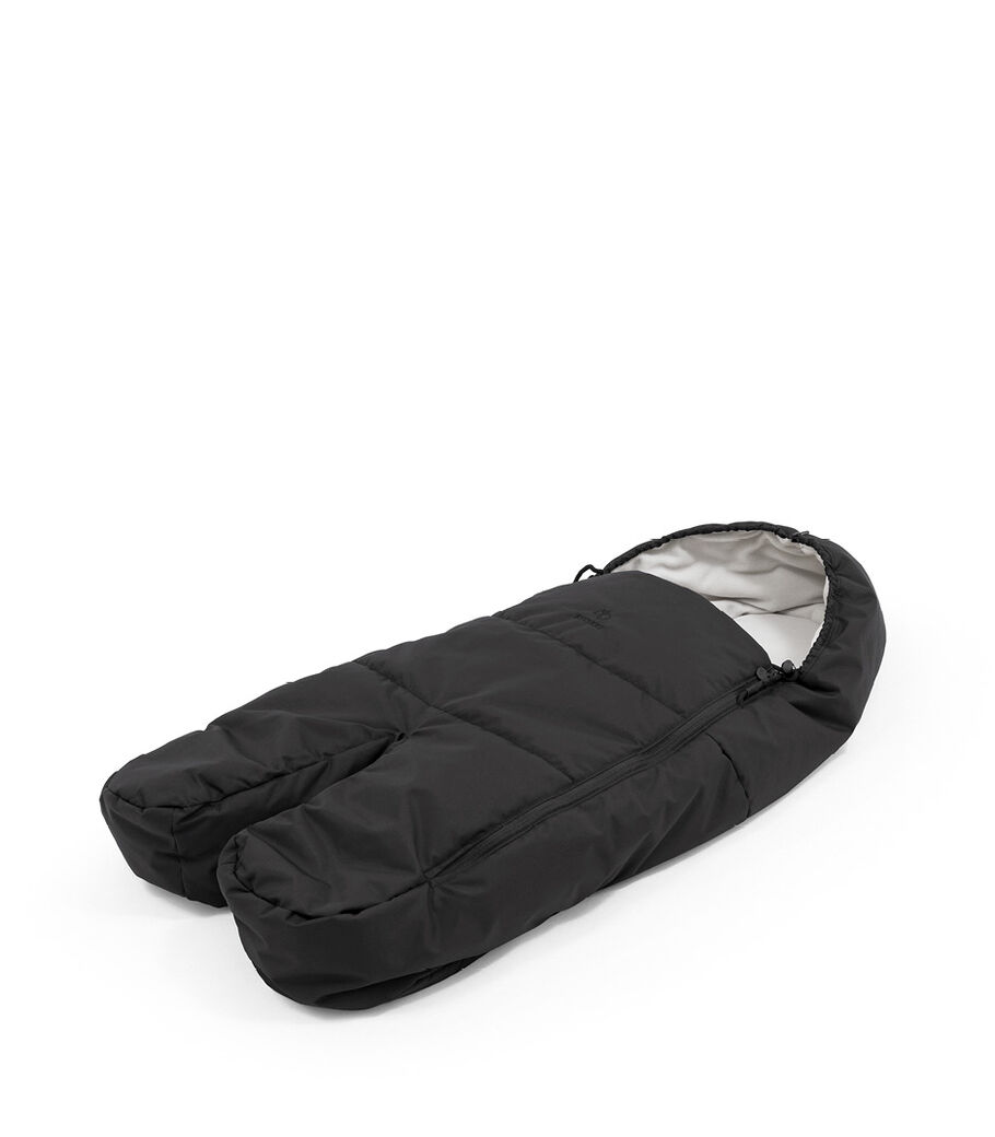 Stokke® Xplory® X Fußsack, Rich Black, mainview view 14