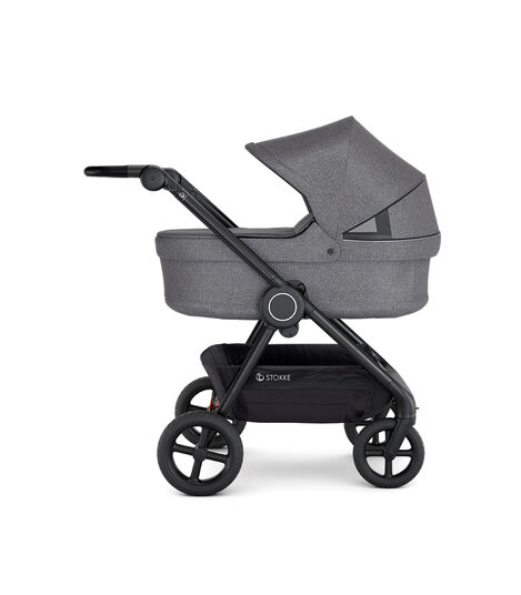 Stokke® Beat Carry Cot Black Melange, Nero Melange, mainview