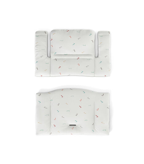 Tripp Trapp® Classic Cushion Icon Multicolor. Flatlay.