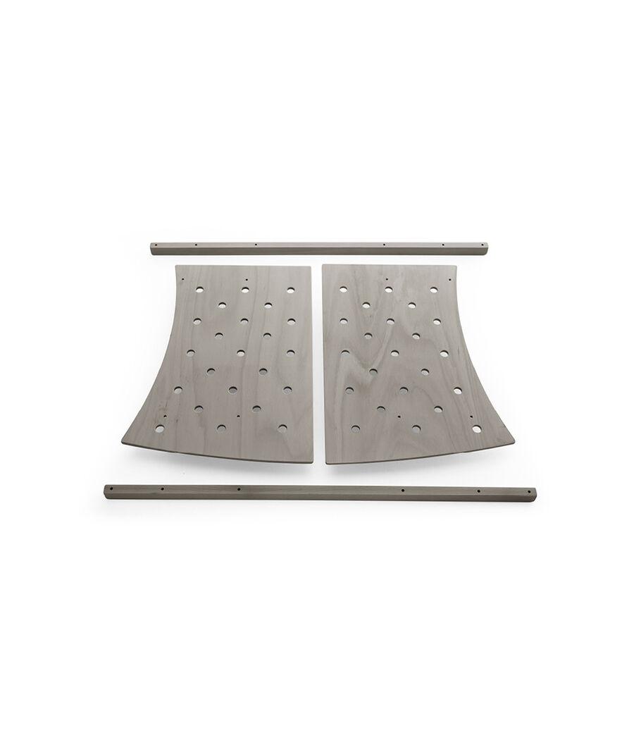Stokke® Sleepi™ Junior Extension, Hazy Grey, mainview view 3