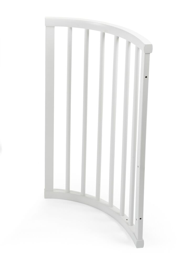 Spare part. 115005 Sleepi end section right White.