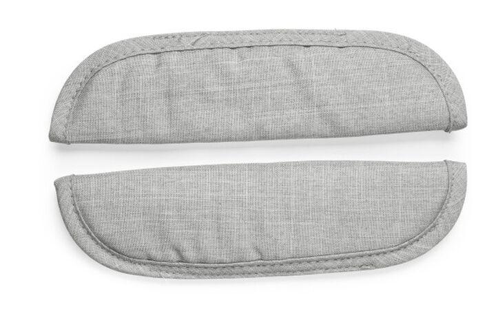 Stokke® Xplory® Schouder-pads voor veiligheidstuigje, Grey Melange, mainview view 1