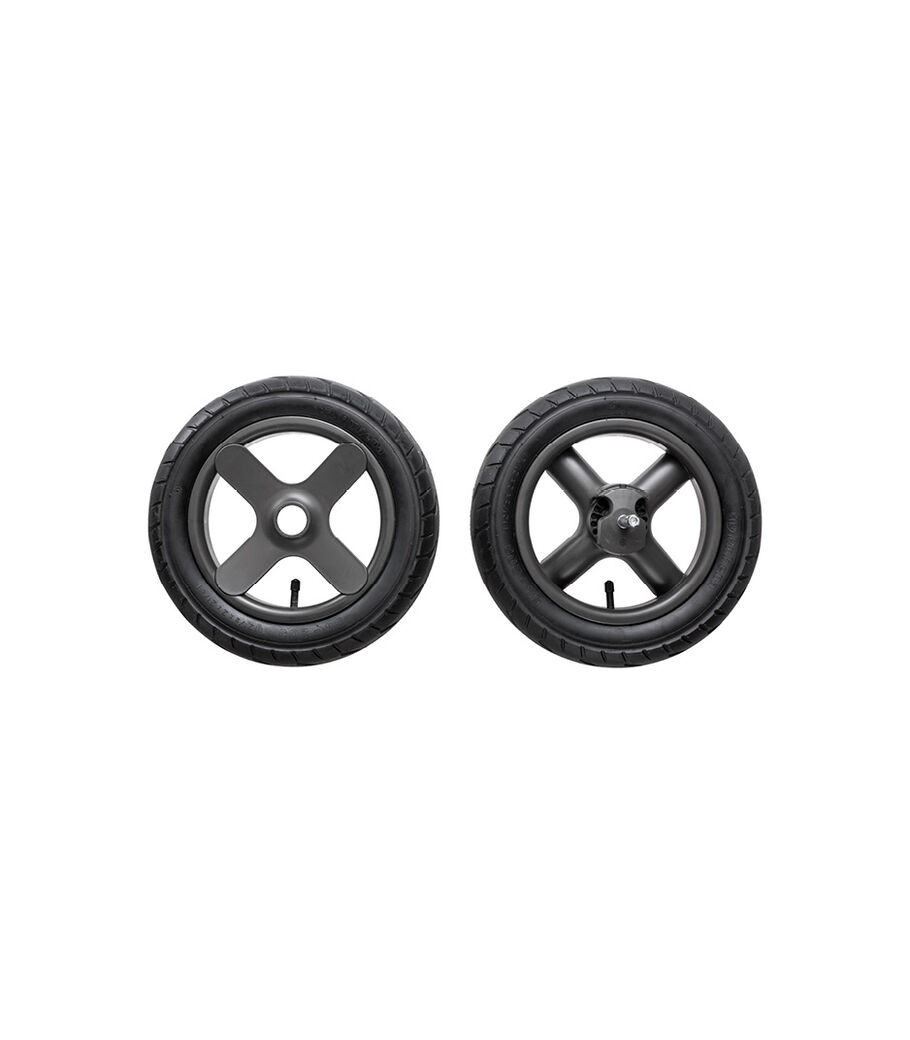 Stokke® Trailz™ Terrain Rear wheel complete set. Grey. Spare part. view 80
