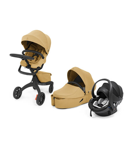 Stokke® Xplory® X Travel System Golden Yellow. Global. view 8
