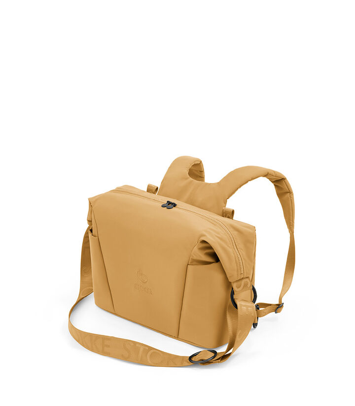 Stokke® Xplory® X Changing Bag Golden Yellow. Accessories. view 1