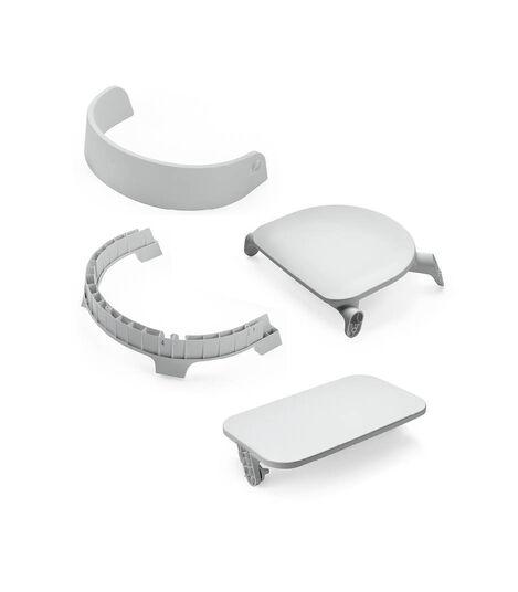 Stokke® Steps™ seat Light Grey. Sparepart.