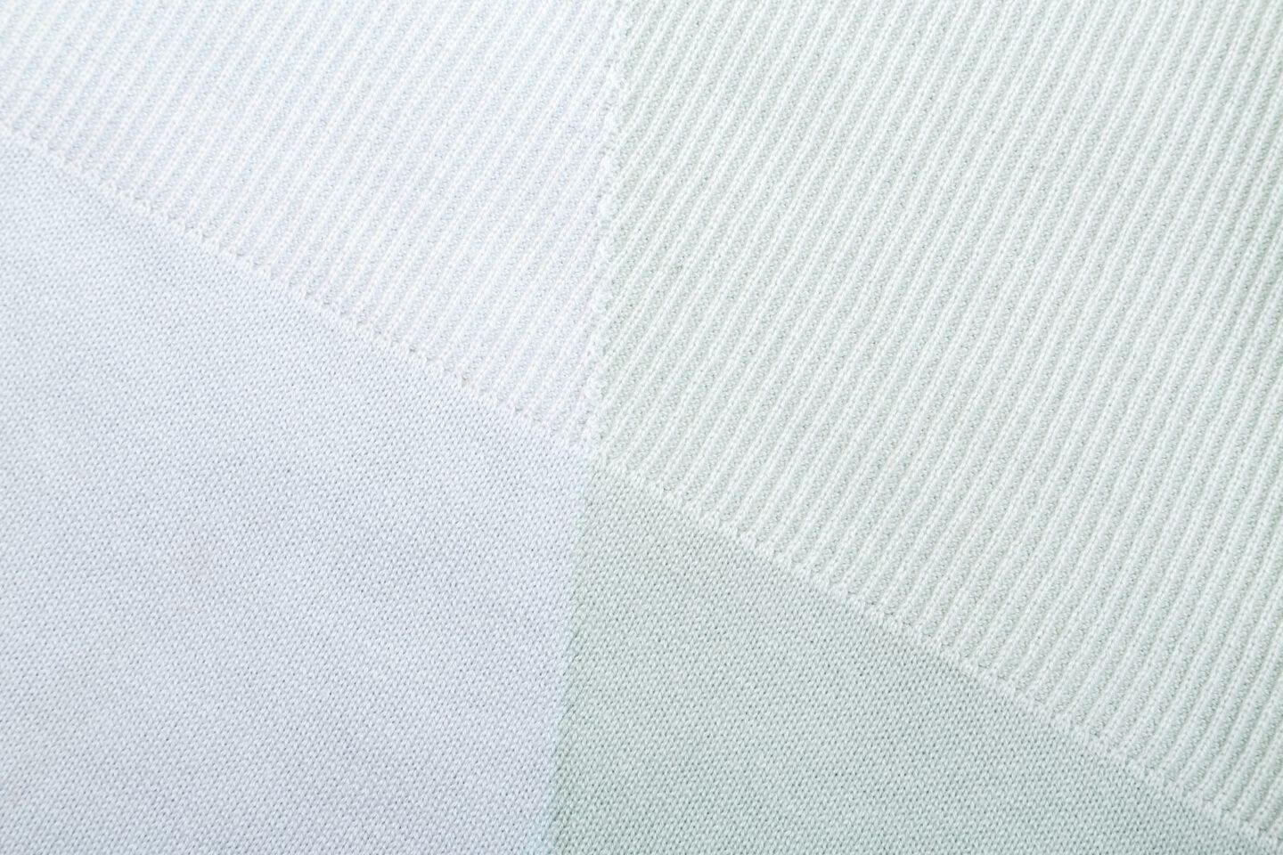 Stokke® Textiles Cotton Knit, Mint. Detail.