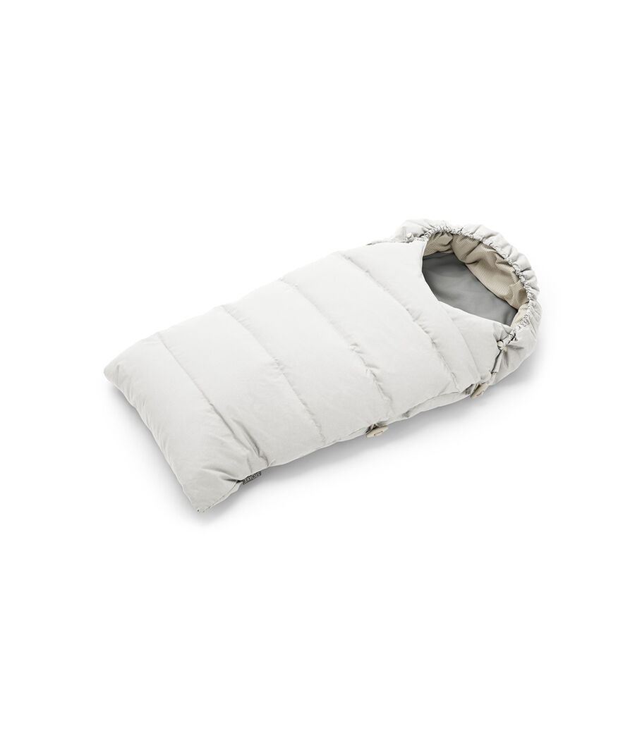 Stokke® Down Sleepingbag, Pearl White.