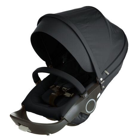 Stokke® Xplory® & Crusi™ Seat Complete Black, Black, mainview view 3