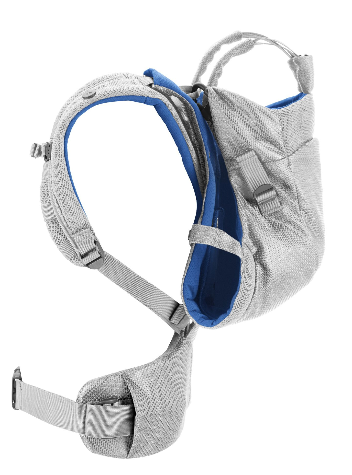 Stokke® MyCarrier™ Back Carrier Marina Mesh. Profile.