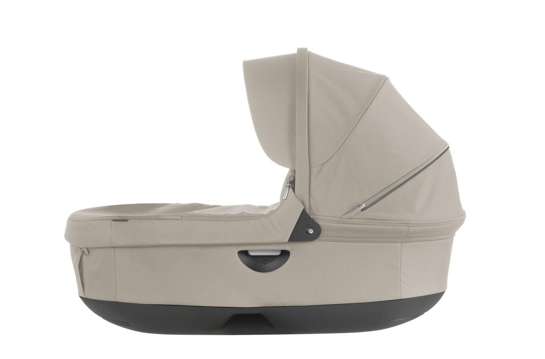 Stokke® Stroller Carry Cot, Beige. For Stokke Crusi™ and Trailz™