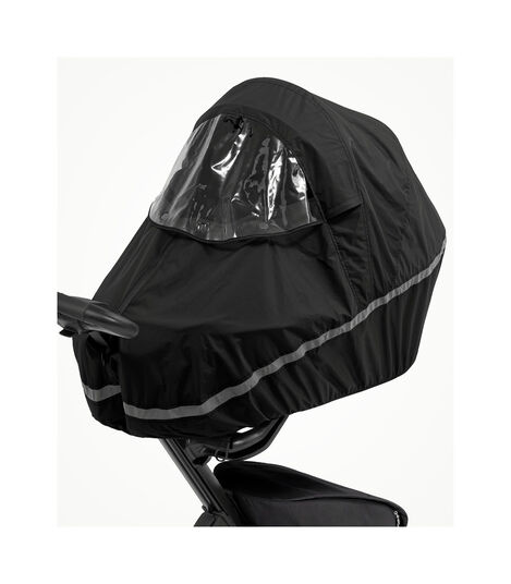 Stokke® Xplory® X Rain Cover on Carry Cot. Zoomed. Accessories.   view 3