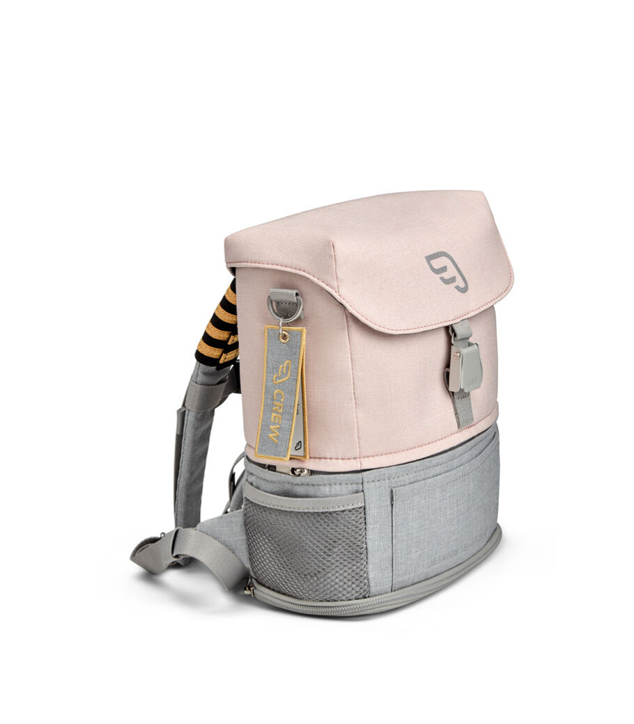 JetKids™ by Stokke® Crew Backpack, Pink Lemonade, mainview view 15