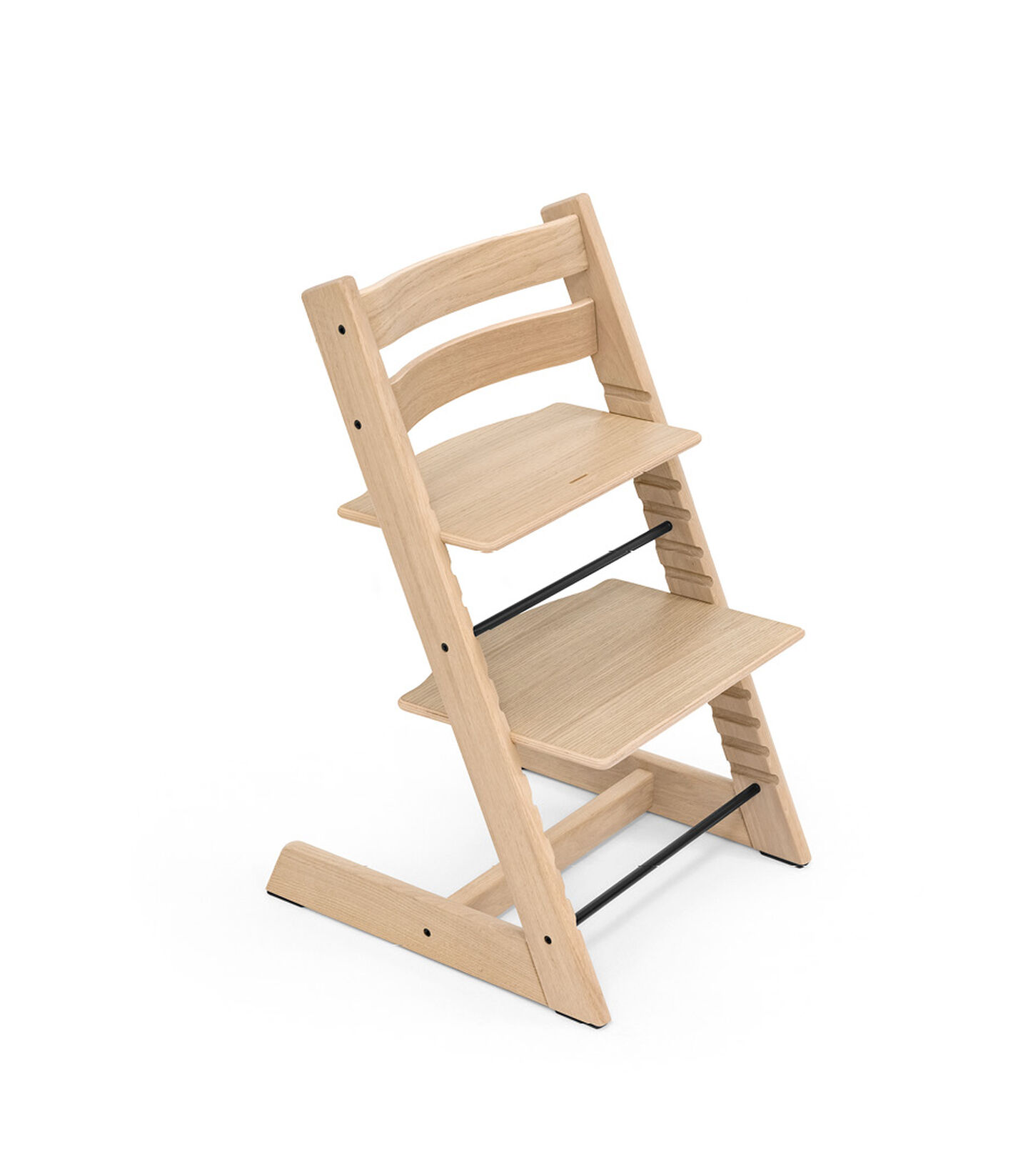 Tripp Trapp® Chair Oak White, Oak Natural, mainview view 2