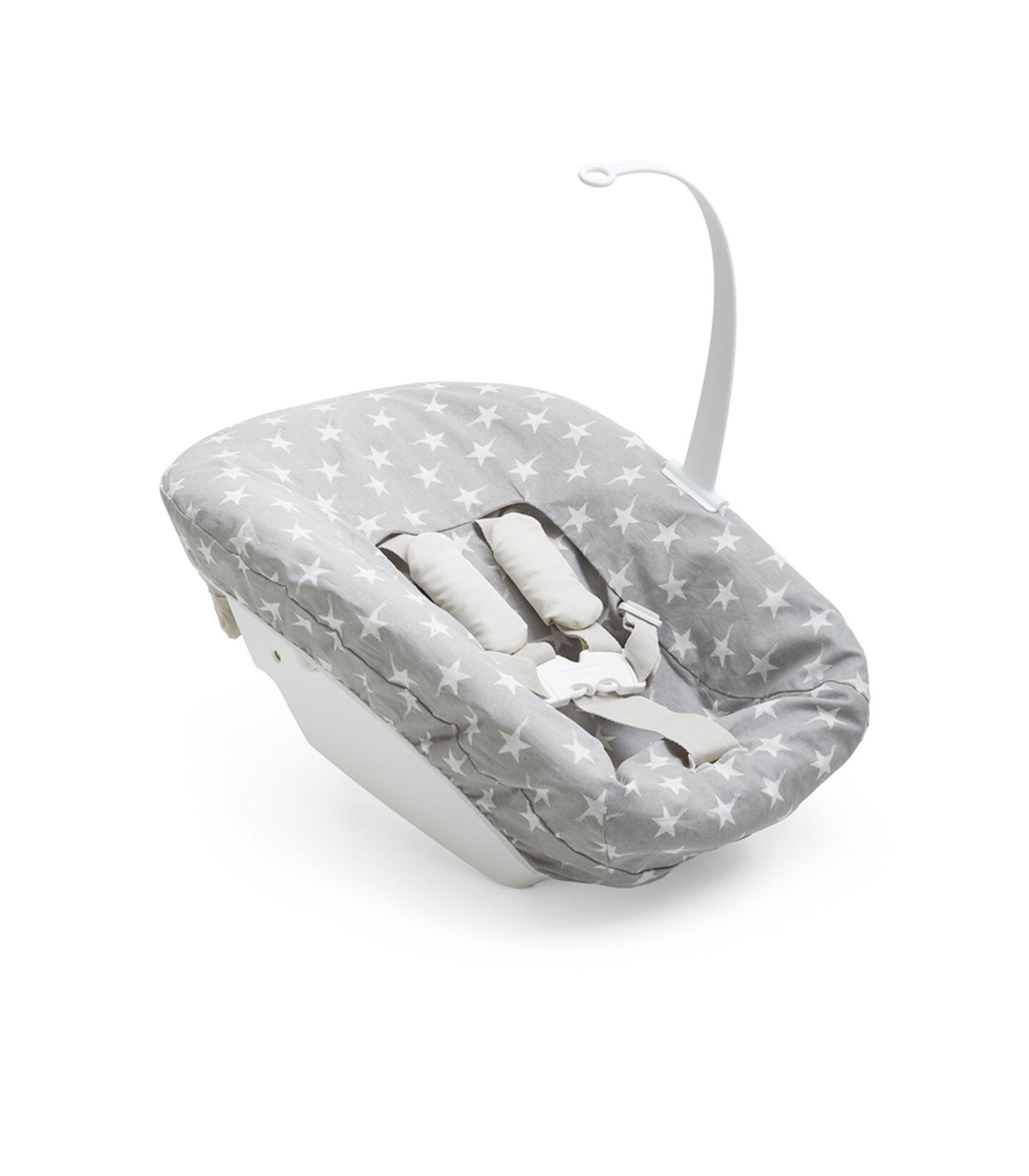 Tripp Trapp® Newborn Set with Pnk Reversed Cover.