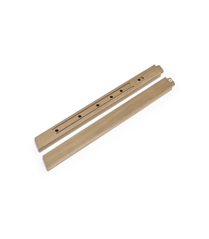 Stokke® Steps™ Wood leg set Front Oak Natural matt varnish. Sparepart.