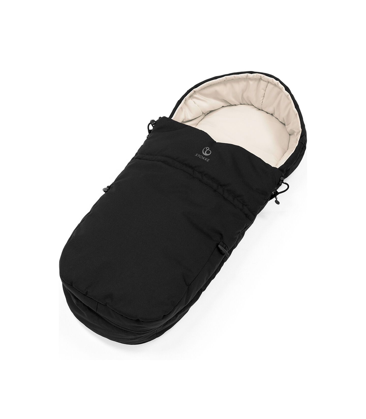 Stokke® Stroller Softbag Black, Black, mainview view 2