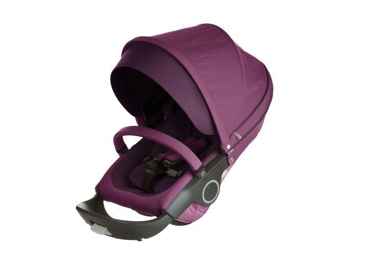 Stokke® Stroller Seat. Purple.
