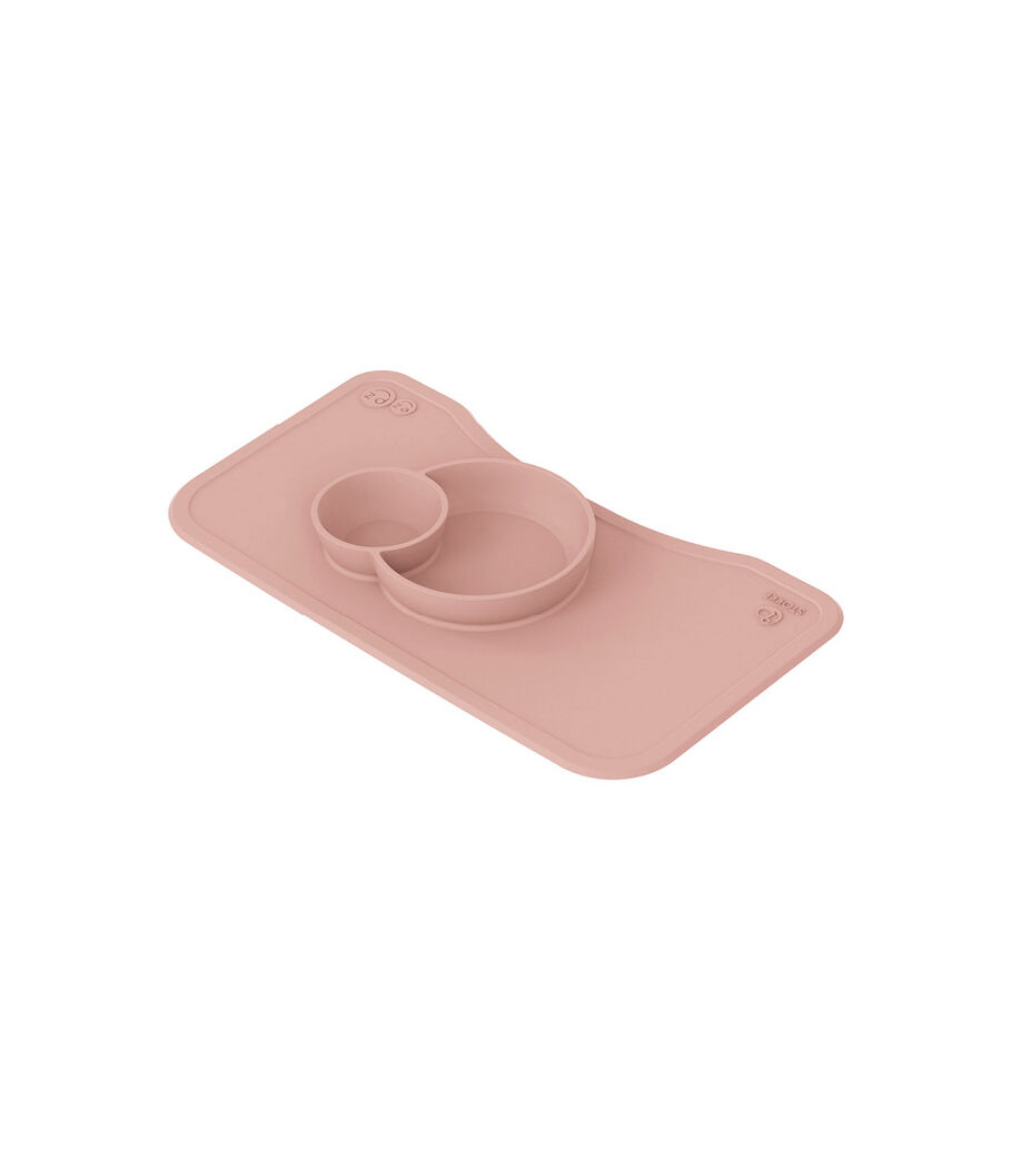 ezpz™ by Stokke™ silicone mat for Steps™ Tray, Pink, mainview view 3