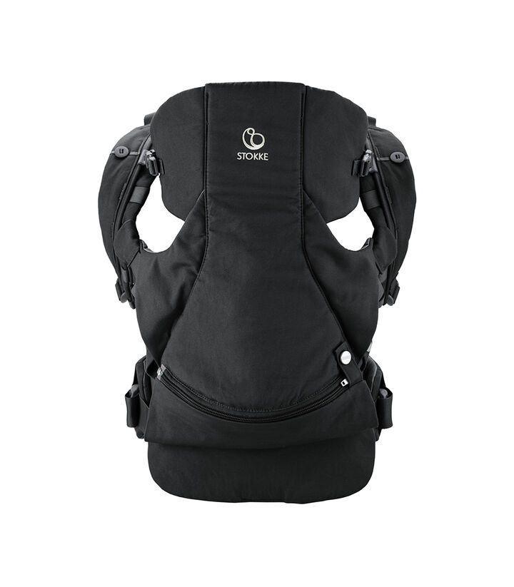 Stokke® MyCarrier™  Bauchtrage Black, Black, mainview view 1