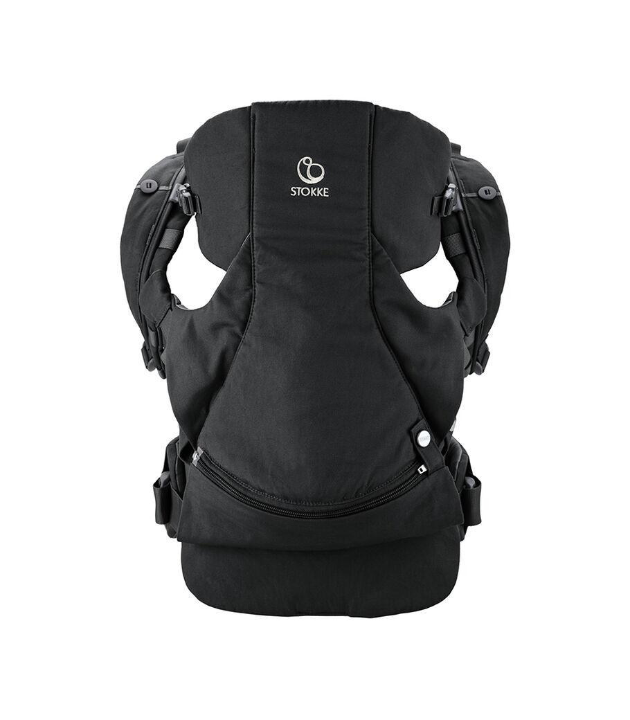 Stokke® MyCarrier™ front- og ryggbærestykke, Black, mainview view 3