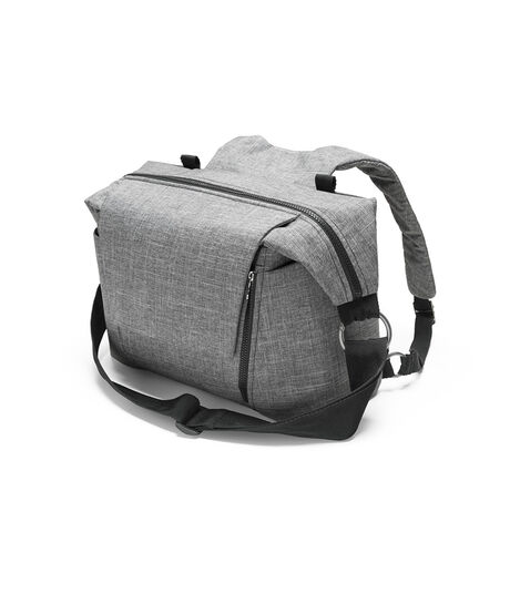 Stokke® Changing Bag Black Melange, Black Melange, mainview