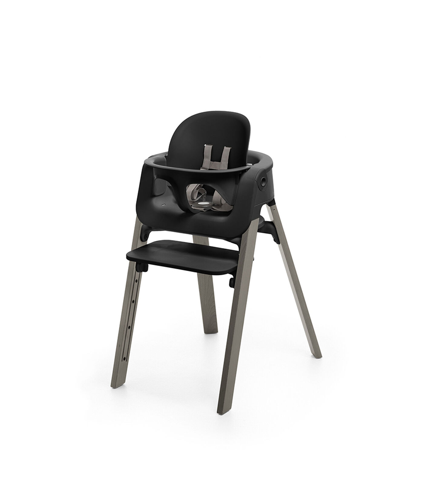 Stokke® Steps™ Hazy Grey with Black Baby Set.