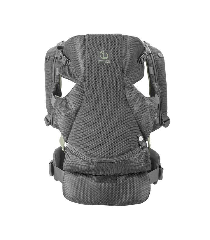 Porte-bébé ventral Stokke® MyCarrier™, Vert Mesh, mainview view 1