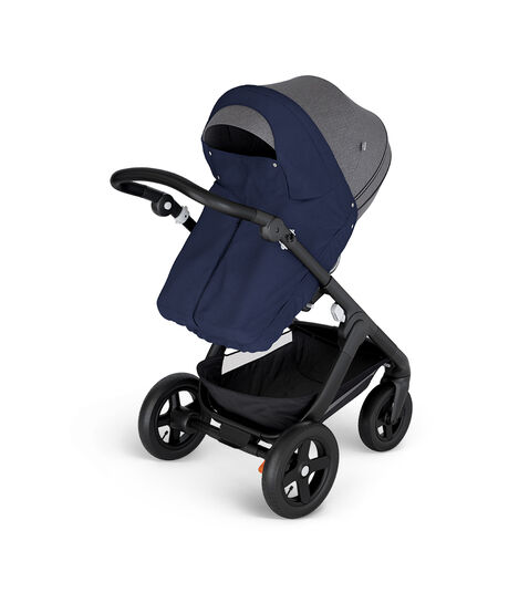 Stokke® Stroller Storm Cover Deep Blue, Deep Blue, mainview view 3