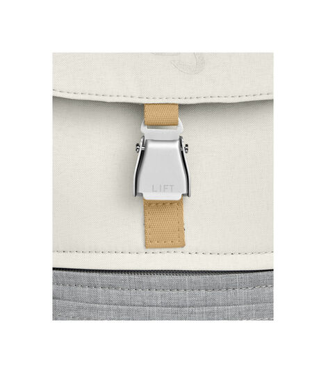 JetKids by Stokke® Crew Backpack Blanc, Blanc, mainview view 7