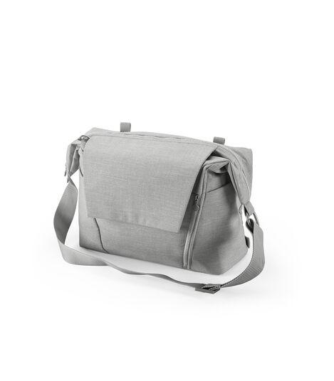 Stokke® Changing Bag Grey Melange, Grey Melange, mainview view 4