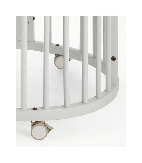 Stokke® Sleepi™ Crib/Bed White, White, mainview view 4