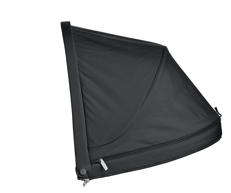 Stokke® Stroller Hood Black, Black, mainview