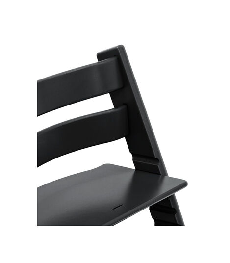 Tripp Trapp® Chair close up photo Black view 4