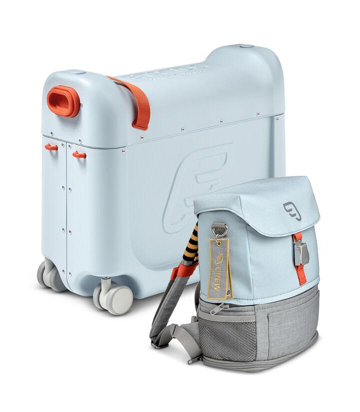 Комплект для путешествий BedBox™ + рюкзак пилота Crew BackPack™ Голубой/Голубой, Blue / Blue, mainview view 1