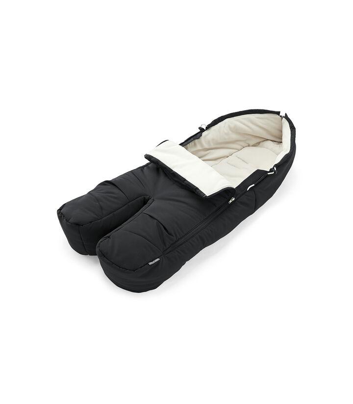 Stokke® Śpiworek z nogawkami Black, Black, mainview view 1